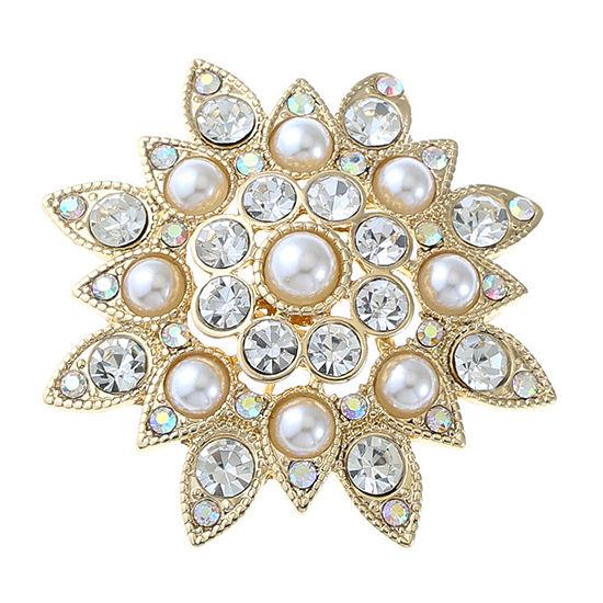 Monet Jewelry White Pin