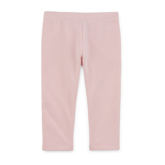 Okie Dokie Girls Fleece Lined Legging - Baby