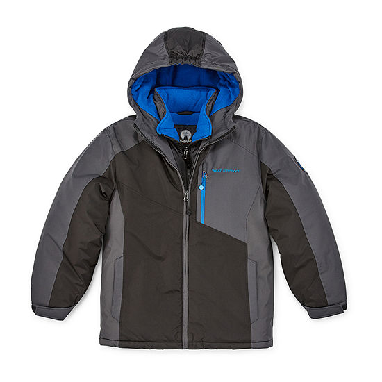 Weatherproof Hw Ski Vestee Boys Heavyweight Ski Jacket Preschool / Big Kid