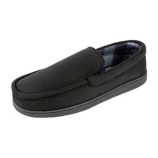 Stafford® Wide Wdith Microsuede Venetian Slippers