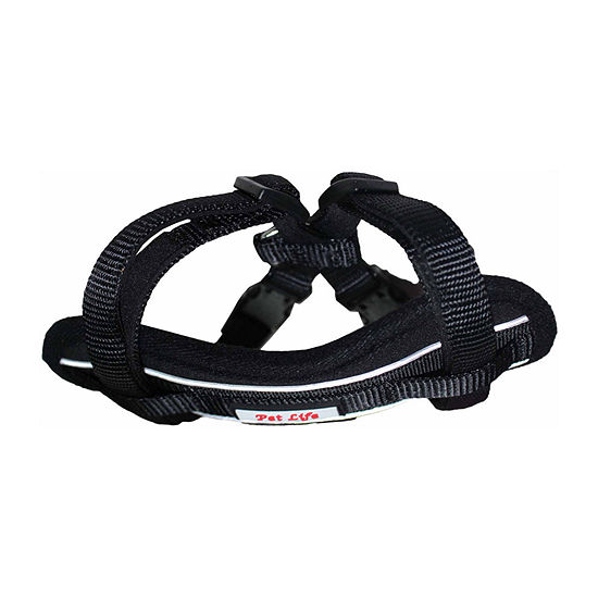 The Pet Life Mountaineer Chest Compression Adjustable Reflective Easy Pull Dog Harness