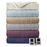 Biddeford MicroPlush Heated Blanket (Twin)