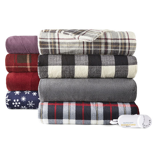 Biddeford™ MicroPlush Heated Throw