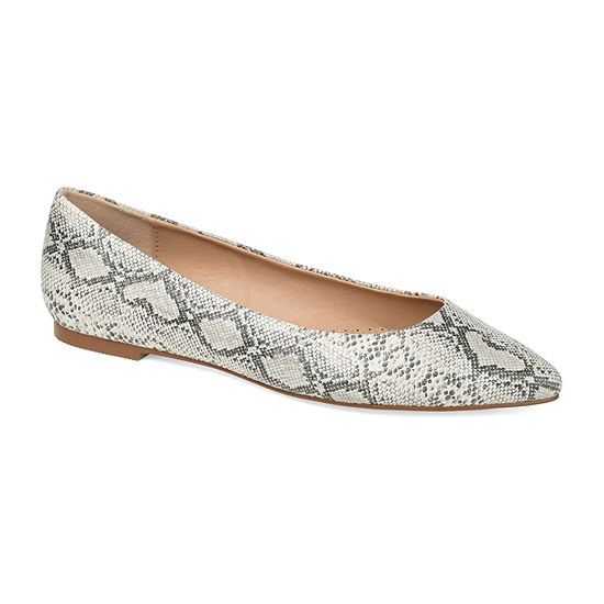 Journee Collection Womens Moana Slip-On Shoe Pointed Toe
