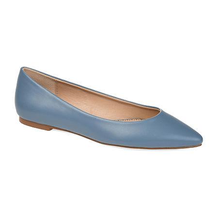 Journee Collection Womens Moana Slip-On Shoe, 8 1/2 Medium, Blue