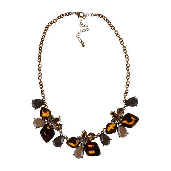 Bijoux Bar 18 Inch Curb Statement Necklace