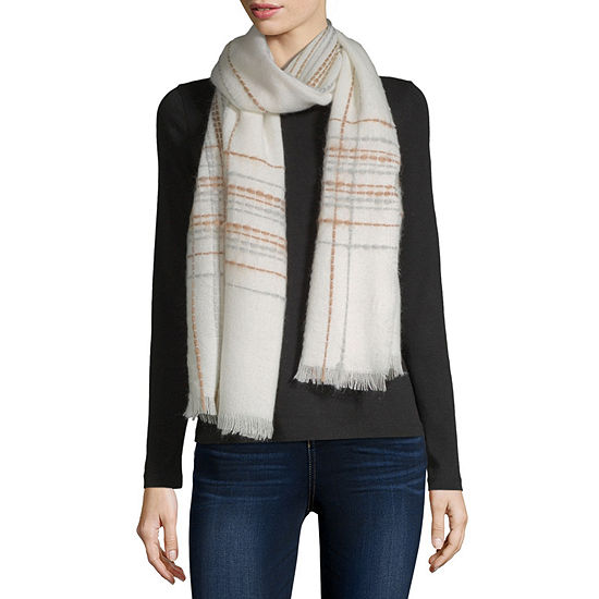Mixit Plaid Cold Weather Scarf