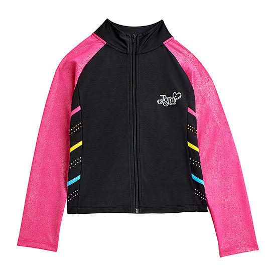 Jojo Siwa By Danskin Big Girls Lightweight Track Jacket