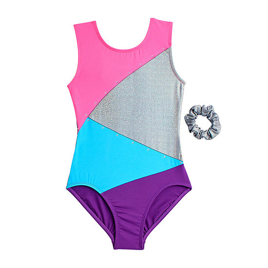 Jacques Moret Inc. Kids Sleeveless Leotard - Big Kid