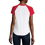 Dickies-Womens Crew Neck Short Sleeve T-Shirt Juniors