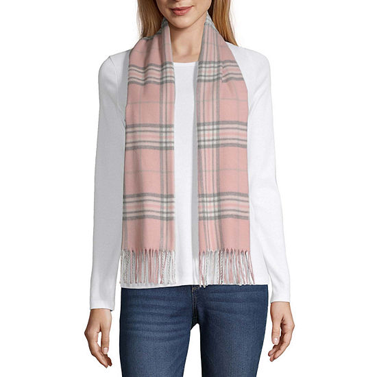 V-Frass Plaid Cold Weather Scarf