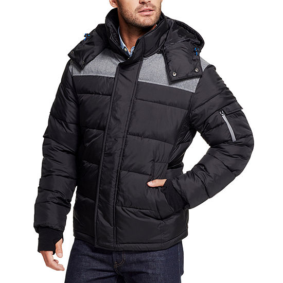 IZOD Midweight Quilted Jacket-Big and Tall