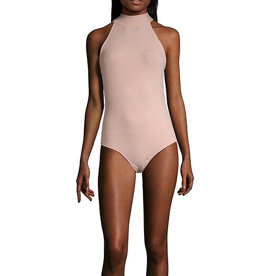 Society And Stitch Sleeveless Bodysuit-Juniors