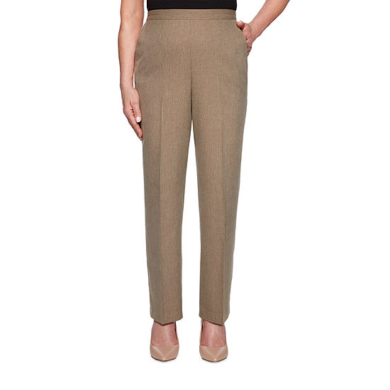Alfred Dunner Boardroom Womens Straight Pull-On Pants