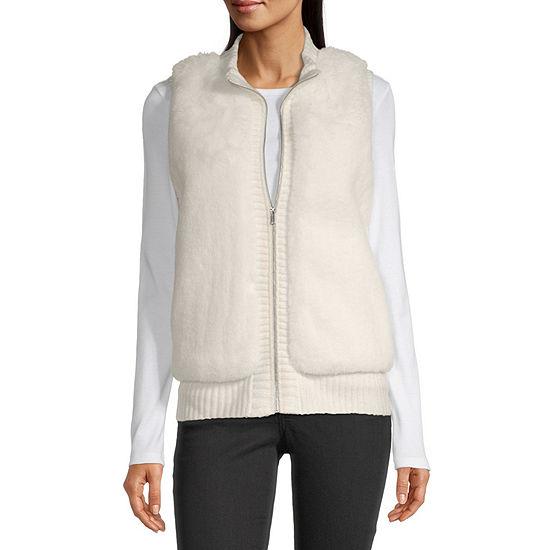 Liz Claiborne Womens Sweater Vest