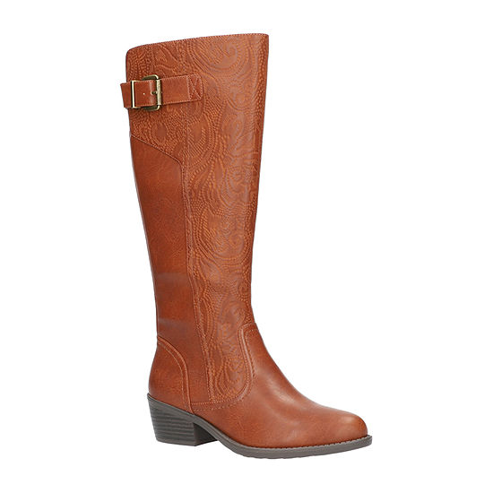 Easy Street Womens Arwen Block Heel Booties