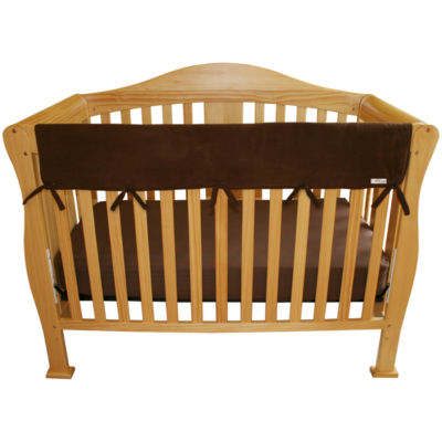 Trend Lab® CribWrap® Brown Fleece Rail Cover
