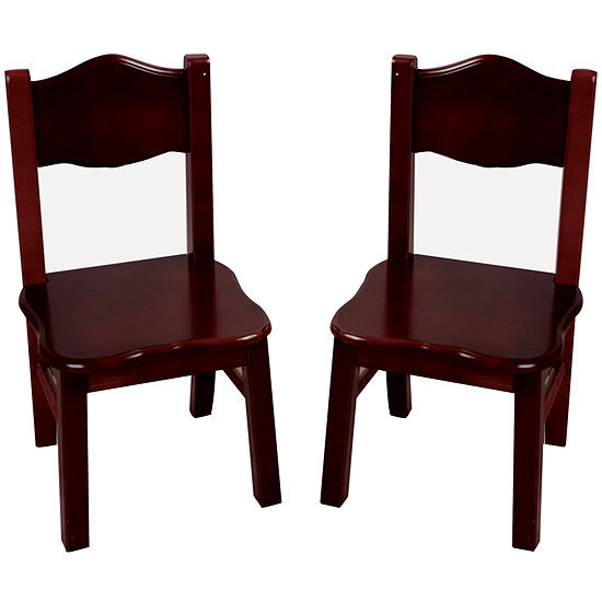 805fb0876446 Guidecraft Classic Espresso Set of 2 Chairs - JCPenney