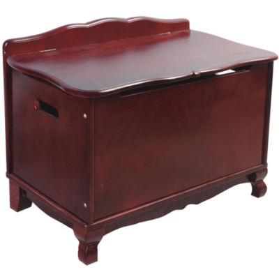 Guidecraft Classic Espresso Toy Box