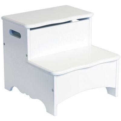 Guidecraft Classic White Storage Step-up