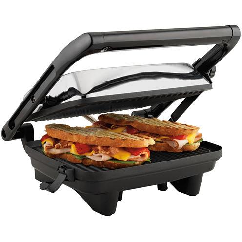Hamilton Beach® Panini Press Gourmet Sandwich Maker