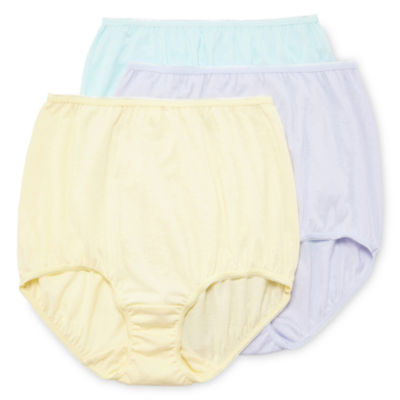 Underscore Cotton 3 Pair Knit Brief Panty