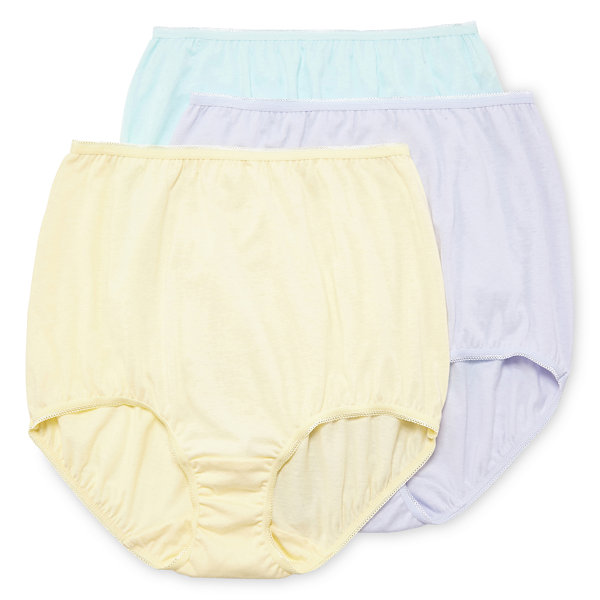 Underscore Cotton 3 Pair Knit Brief Panty 0218711