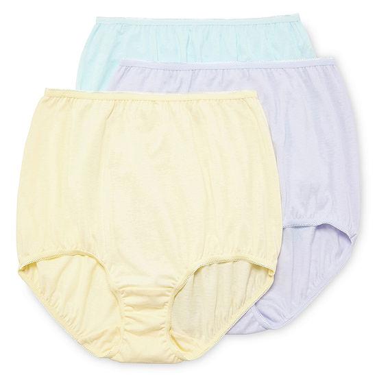 86814931d1 Underscore Cotton 3 Pair Knit Brief Panty JCPenney