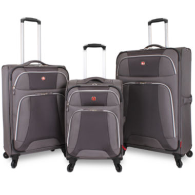 jcpenney.com | Wenger® Monte Leone Expandable Spinner Upright Luggage Collection