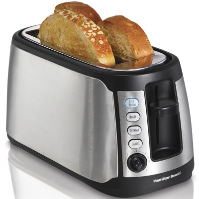 Hamilton Beach® Keep Warm 4-Slice Long Slot Toaster