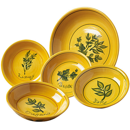 Herb 5-pc. Pasta Set
