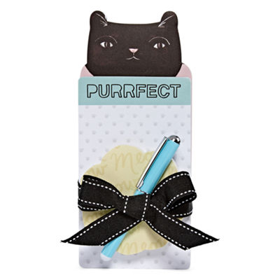 Mixit Purrfect Notepad and Pen Set