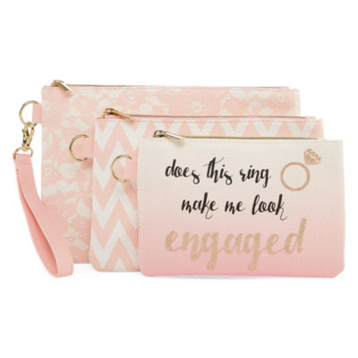 Bride To Be 3PC Pouch Set