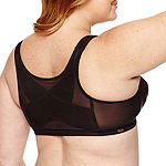 Exquisite Form® Fully Front Close with Lace Posture Bra #5100565