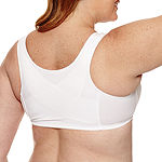 Exquisite Form® Fully Front Close Cotton Posture Bra with Lace  #5100531
