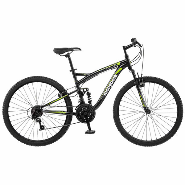 "Mongoose Status 2.2 26"" Mens Full Suspension Mountain Bike"