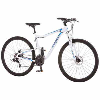 "Mongoose Status 2.6 29"" Mens Full Suspension Mountain Bike"
