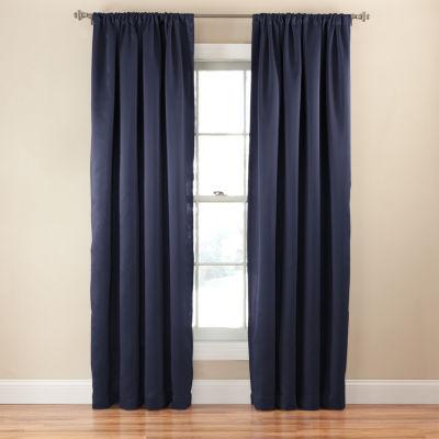 Eclipse Tricia Thermapanel Room Darkening Rod-Pocket Curtain Panel