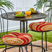 """15""""Outdoor Bistro Chair Cushion Set of 2"""