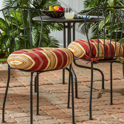 "18"" Outdoor Bistro Chair Cushion Set of 2"