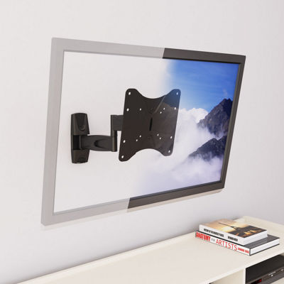 "Articulating Flat Panel 36"" Max TV Wall Mount"