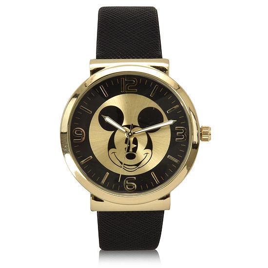 Disney Mickey Mouse Black Bracelet Unisex Watch-Mk5058jc