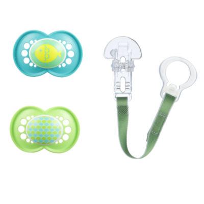 Mam Baby 3-pc. Pacifier & Clip Value Pack - Unisex