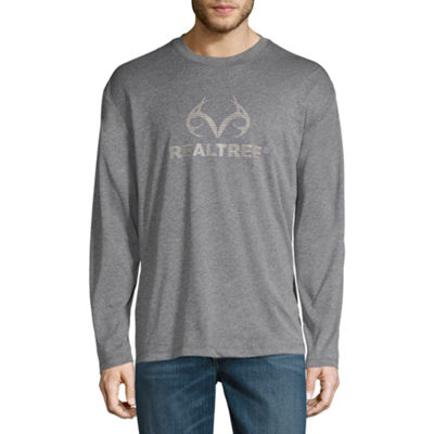 Realtree Long Sleeve Crew Neck T-Shirt