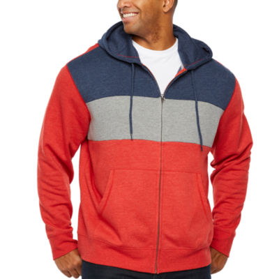 The Foundry Big & Tall Supply Co. Mens Long Sleeve Hoodie-Big and Tall