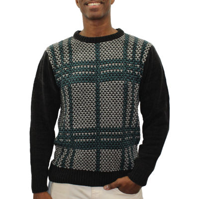 Steve Harvey Mens Crew Neck Long Sleeve Sweater
