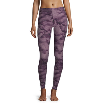 Flirtitude Womens Mid Rise Legging-Juniors