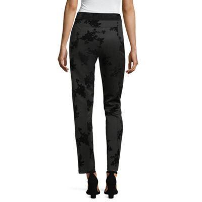 Liz Claiborne Classic Fit Woven Pull-On Pants