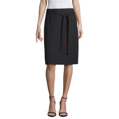 Liz Claiborne Ponte Wrap Skirt