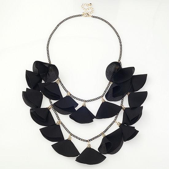 Bijoux Bar Link Beaded Necklace